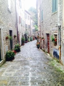 Portico, Emilia Romagna, Cammino di Assisi 2014