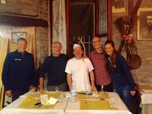 Damiano, Delio, Gigino, Alessandro & Me